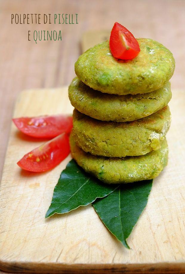 Polpette di quinoa e piselli - GranoSalis - Blog di cucina naturale e consapevole