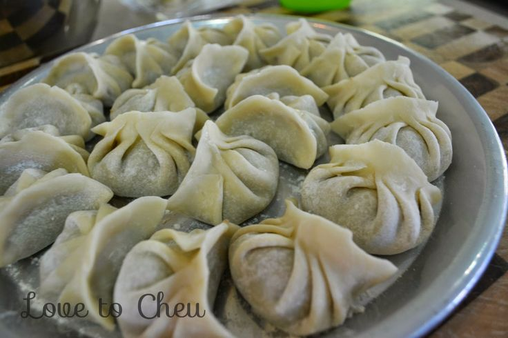 Love to Cheu: How to : fold dumplings