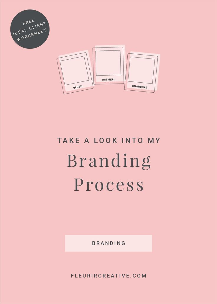 Take A Look Into My Branding Process | A behind the scenes look into how I work with clients