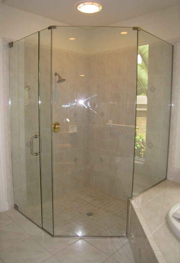 31 best Shower Remodeling images on Pinterest | Neo angle shower ...