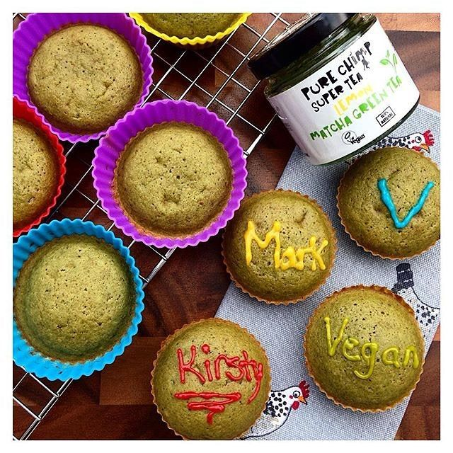 Magical matcha lemon cupcakes!  via @kirstywaterman