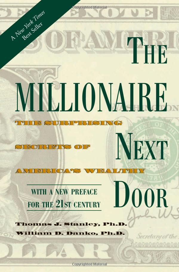 "The Millionaire Next Door: The Surprising Secrets of America's Wealthy by Thomas Stanley, William Danko. An eye opener! Made me want to follow a similar lifestyle and avoid having a ""big hat, no cattle."""
