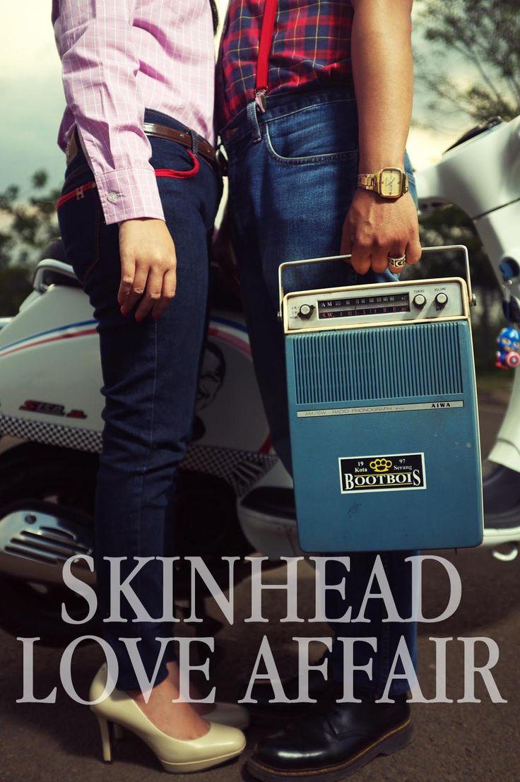 Pre Wedding Photographer by : Sebastinus Advent  Tema : Modern Oldschool  Skinhead Love Affair