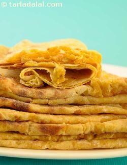 Puran Poli ( Gujarati Recipe) recipe | Gujrati Recipes | by Tarla Dalal | Tarladalal.com | #637