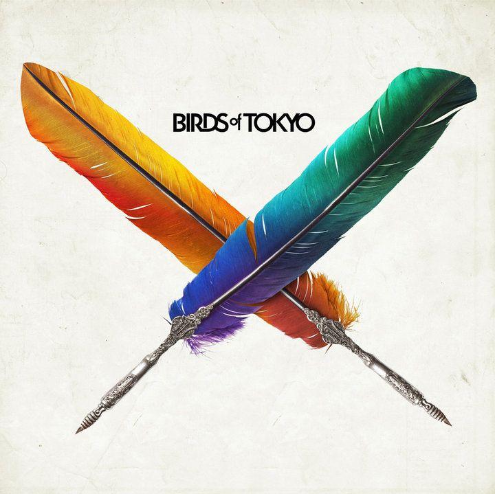 Birds of Tokyo by Birds of Tokyo. Stunningly vibrant album cover, great album.