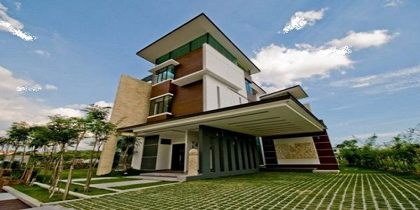 Luxurious Home Design with Luxury Modern House Exterior Design