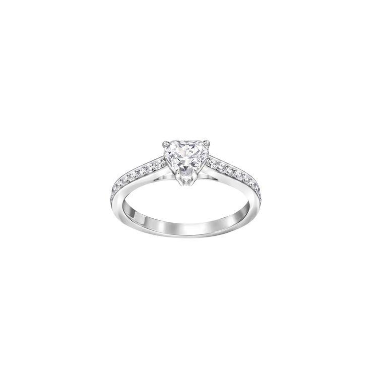 "Swarovski ""ATTRACT"" Ring #Ring #Crystals #SpringSummer2016 #JewelleryDesigner #Swarovski #Jewelry #Heart #Love"