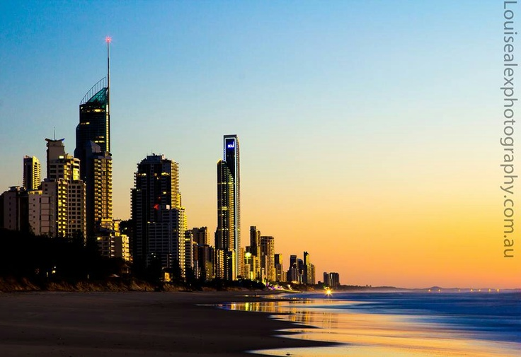Broadbeach Australia at sunrise 15/06/13