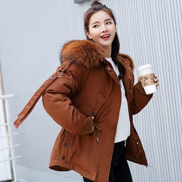 13d299e1d Parkas mujer 2019 short winter jacket women hooded winter coat women ...