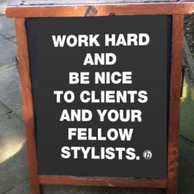 """""""50 percent of the reason clients come to you has nothing to do with a comb, brush or color bowl – it's because they like you—so build relationships!"""" states Eric Fisher, owner of award-winning Eric Fisher Salons & Academy in Wichita, KS. In his best-selling business and training guide, """"Source Book,"""" Eric makes it crystal … Continued"""
