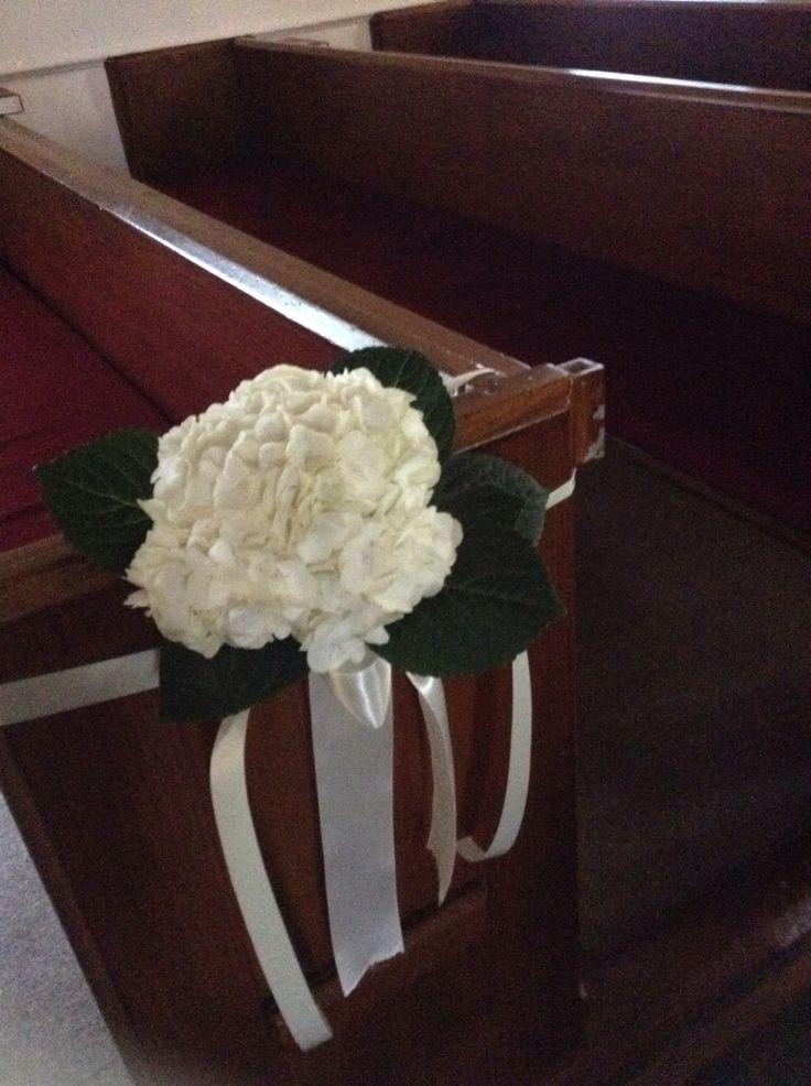 Hydrangea pew flowers