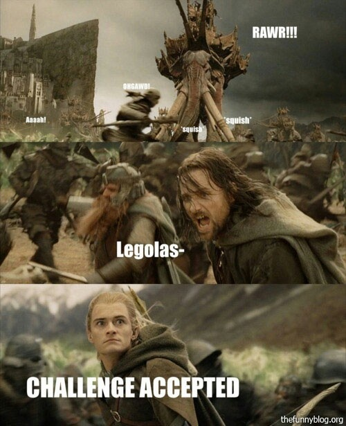 I LOVE THIS PART!!!!!!!!! Sorry Legolas, but Gimli says it ...