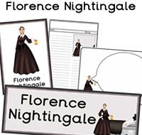Florence Nightingale Printables, great for history lessons in the classroom. Lots more history resources and 1000s more educational printables available to download.