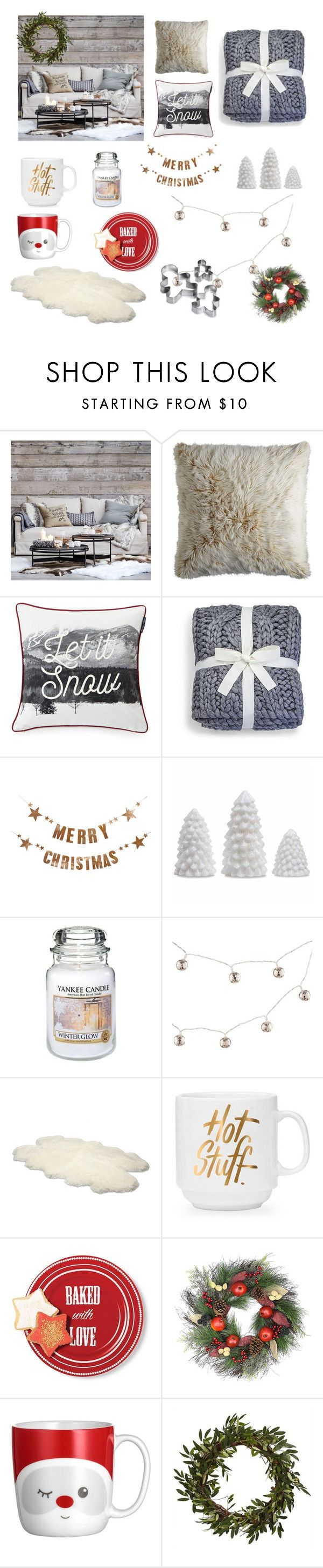 """Winter interior by Sweetlittlebunny"" by sweetlittlebunny on Polyvore featuring interior, interiors, interior design, dom, home decor, interior decorating, Eichholtz, Pier 1 Imports, Lexington i UGG"