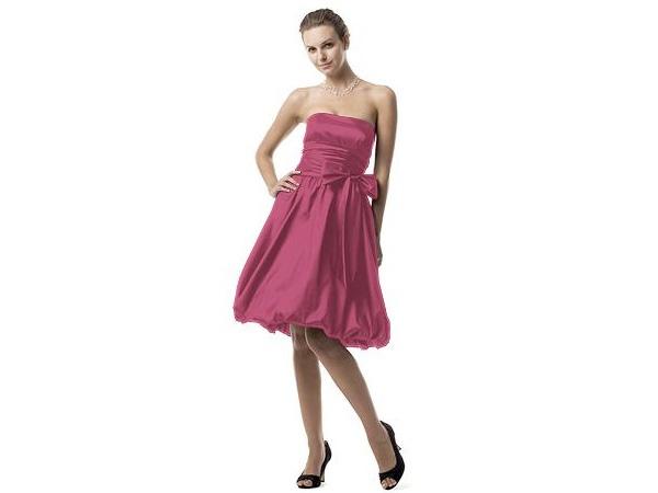 El rosa, claro y fuerte, es muy romántico / vestidos para damas / Boda
