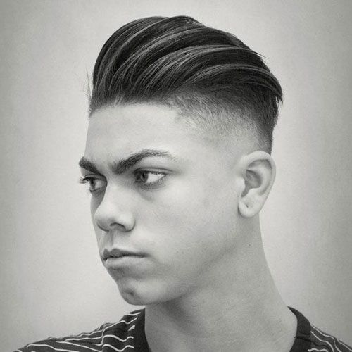Loose Slick Back Undercut