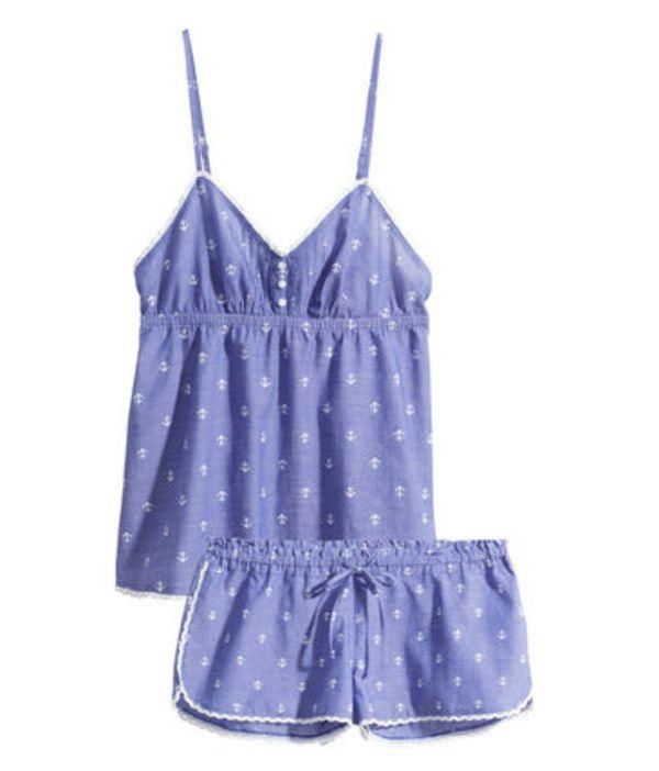 追跡可♡夏らしいマリン柄パジャマ