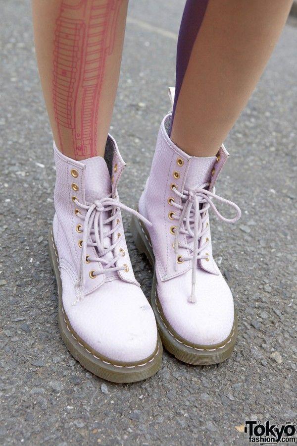 Tokyo Lavender Dr. Martens Boots