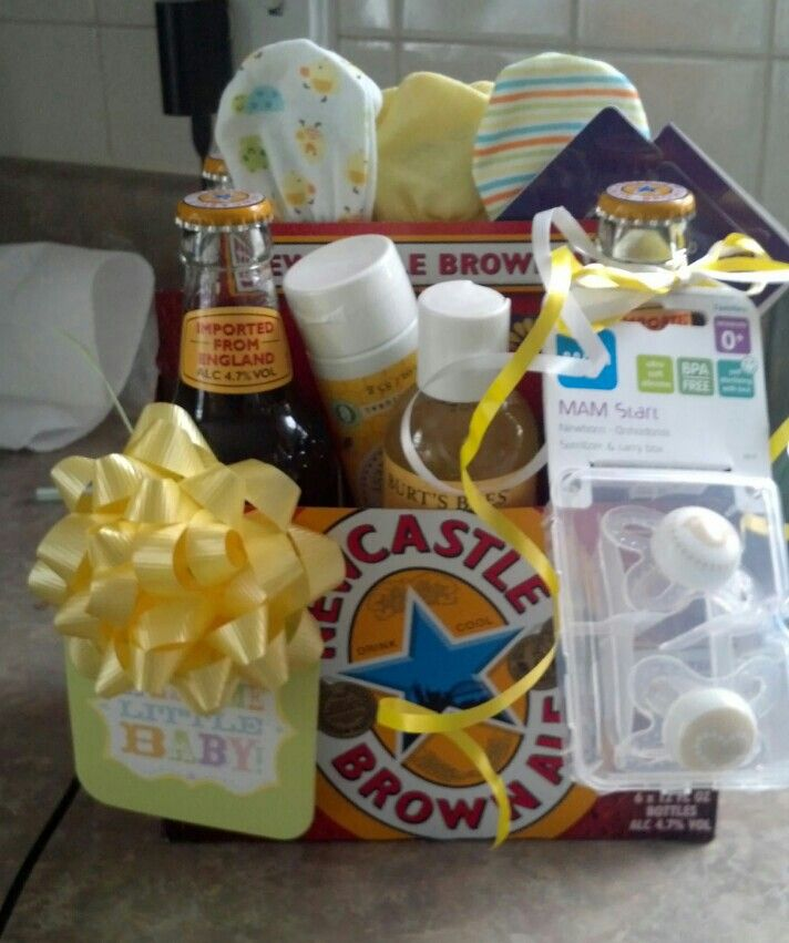 Couples baby shower gift.