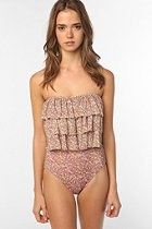 Boudouir London St. Tropez Ruffle One-Piece Swimsuit  #UrbanOutfitters