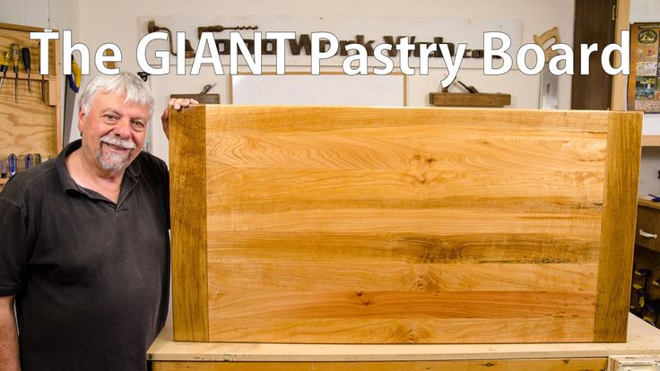 Making a Cupcake Pastry Board.