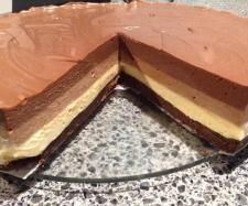 Recipe Triple Chocolate Layer Cheesecake by karyn amos - Recipe of category Desserts