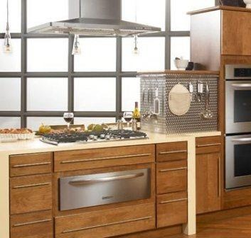 Kitchen Exhaust Fan   Is That A Dishwasher Drawer Under The Cooktop? Part 34