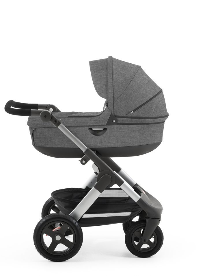 Have you seen the all-new All Terrain Stokke Trailz stroller?? Grows with baby from newborn to 45lbs! They are simply cool. http://www.goskyride.co.uk/