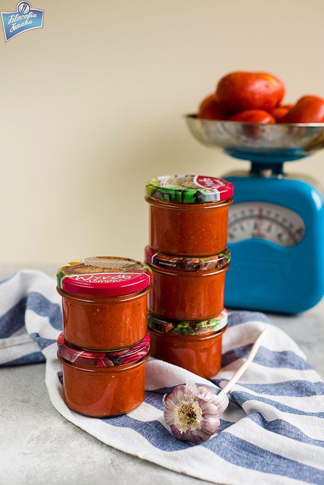 Sos pomidorowo-paprykowy do słoików