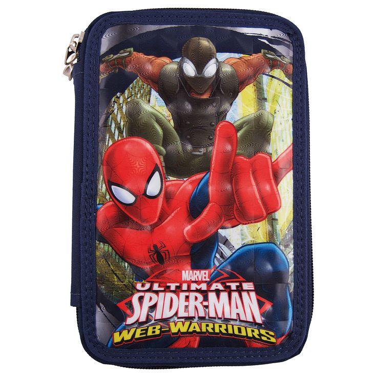 Penar Spiderman, 20 x 6 cm, jucarii copii ieftine de Craciun  Vezi pe http://www.buyxpress.co/penar-spiderman-20-x-6-cm/