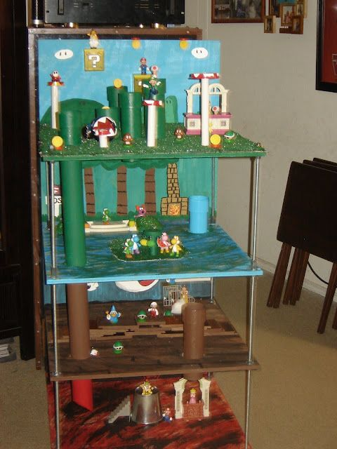 1000 Images About Super Mario Playset On Pinterest Pvc