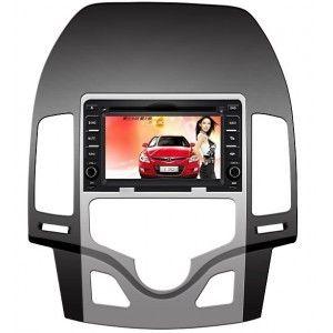 Autoradio DVD GPS Hyundai I30 avec ecran tactile & fonction Bluetooth,TNT,USB,RDS,TV,DIVX