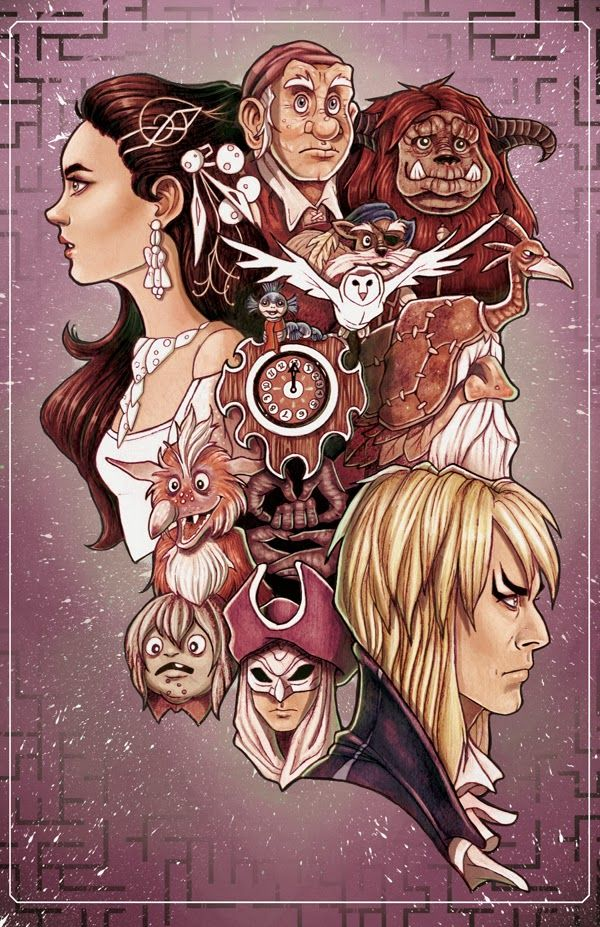 Cool Art: 'Labyrinth' by Chrissie Zullo