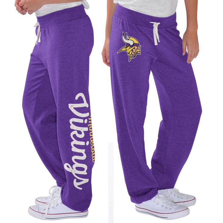 Minnesota Vikings G-III 4Her by Carl Banks Women's Scrimmage Fleece Pants - Purple