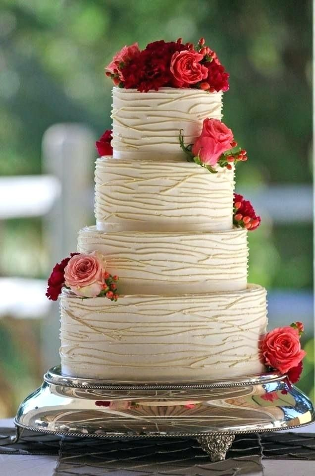 Comfortable simple wedding cake images Figures