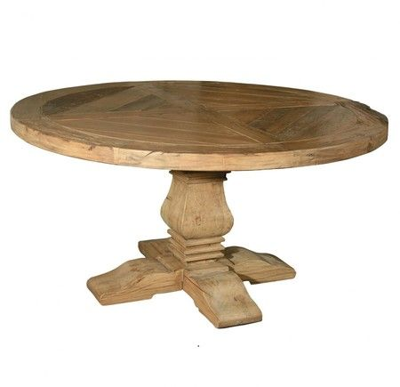 "Pedestal 60"""" Round Dining Table"