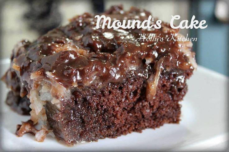 Chocolate Coconut Mounds Cake Mixes