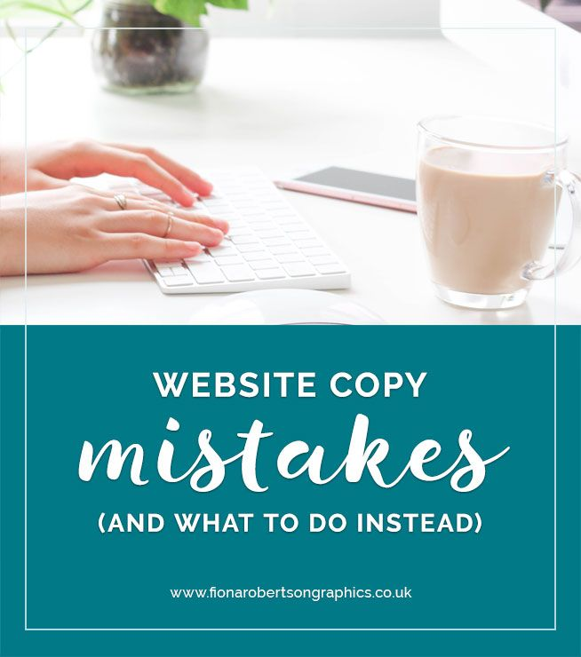 Nothing is more disheartening than pouring my heart and soul into a web design, only to receive lacklustre content from the client. Because if the content isn't up to scratch, no amount of design magic is going to make up for it. So what are the website copy mistakes that make me want sob into my coffee? What should you do instead? #webdesign #websitetips #copywritingtips