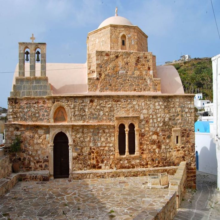 Church of St. Chrysostom in the country! #Kimolos #Cyclades