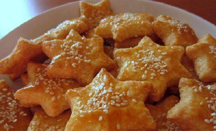 Szezámmagos sajtos csillagok – lenyűgöző finomság!