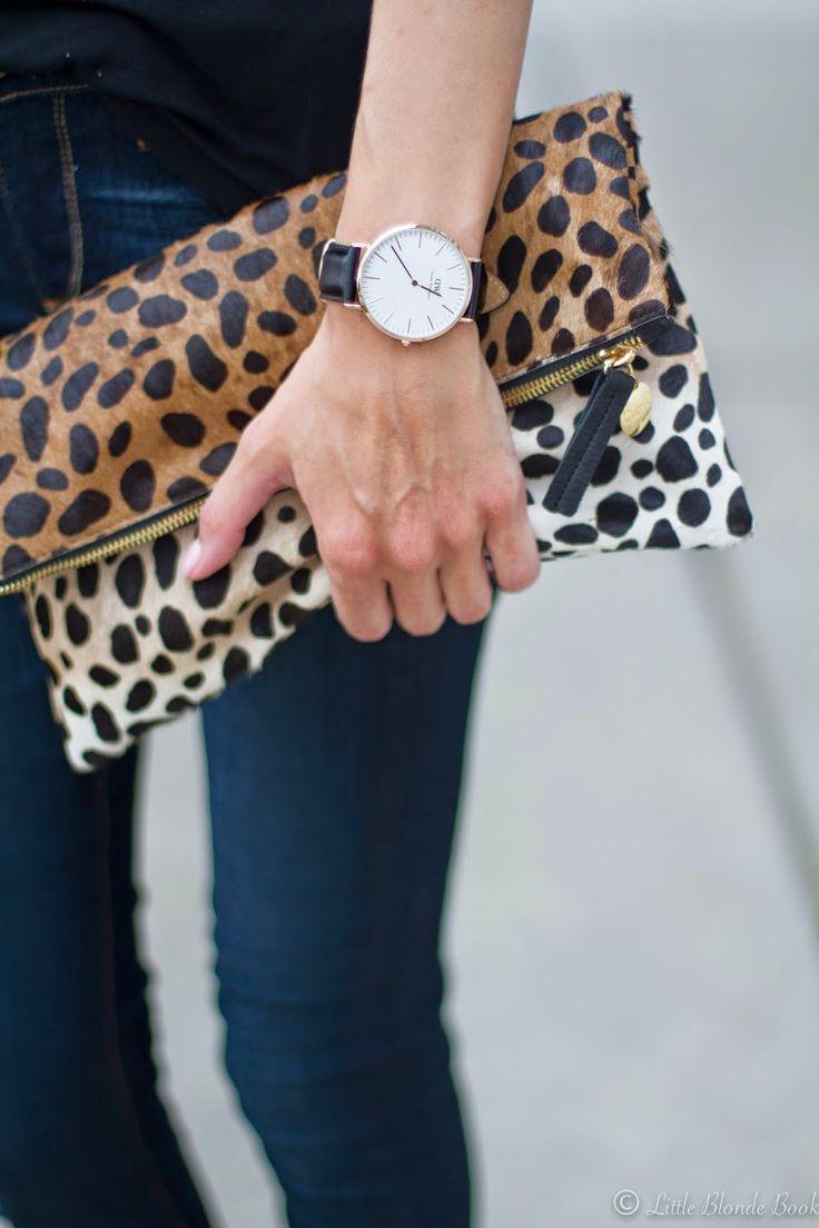 Daniel Wellington timepiece and a nice clutch!