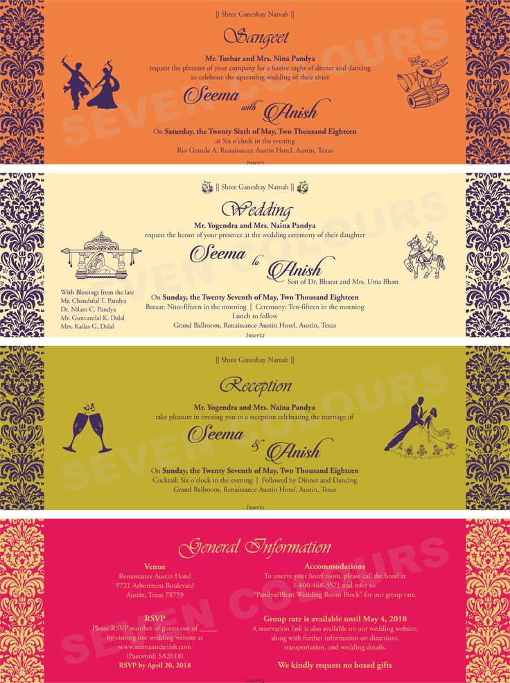 sangeet wedding reception and rsvp writing sample matter