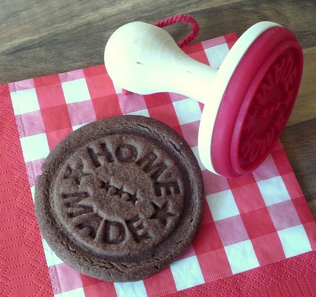 """Homemade"" cookie stamp"