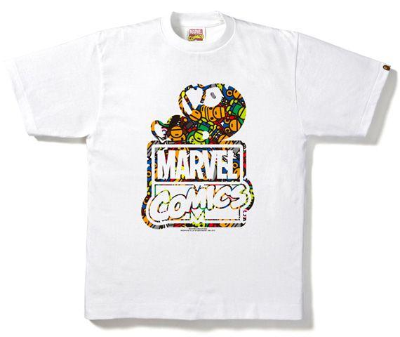 Marvel Comics X A Bathing Ape