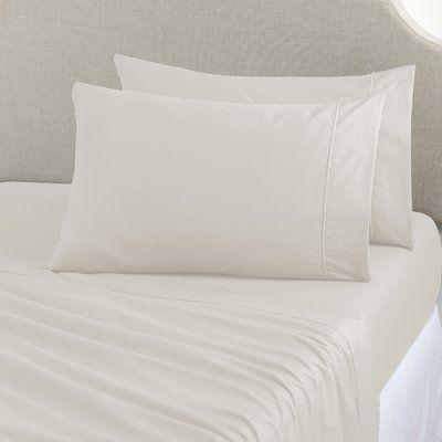 Home Fashion Designs Joyanna Rich 1000 Thread Count Sheet Set Size: Queen, Color: Ivory