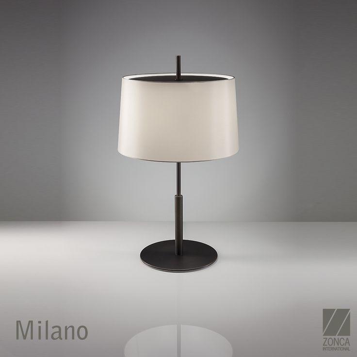 Milano Modern Bedside Lamp - Design: Zonca #zonca #zoncalighting #madeinzonca