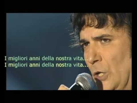 """Renato Zero """"I migliori anni della nostra vita"""""""