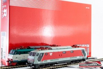 RIVAROSSI HR2432 - H0 1:87 - Set 2 Locomotive Elettriche E 444R 103 e 078 motorizzate
