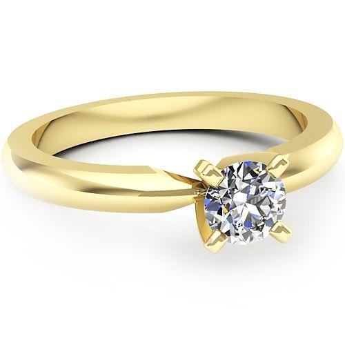 Inel logodna L40GDI Inel cu diamant