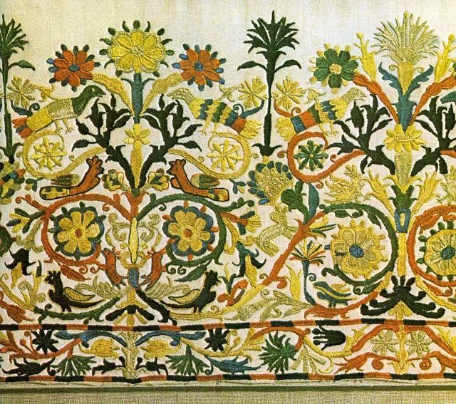 traditional Cretan embroidery (The Textile Blog)